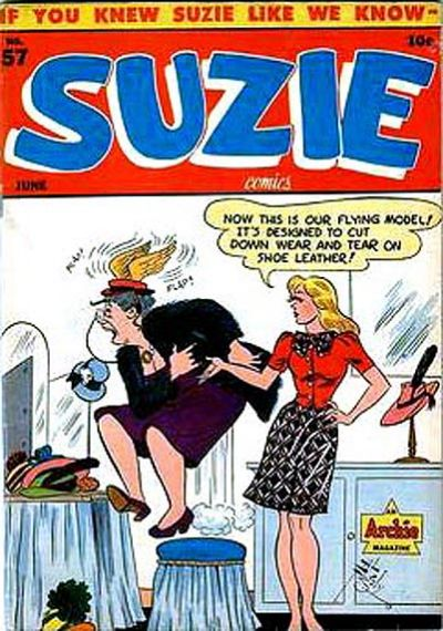 Cover for Suzie Comics (Archie, 1945 series) #57