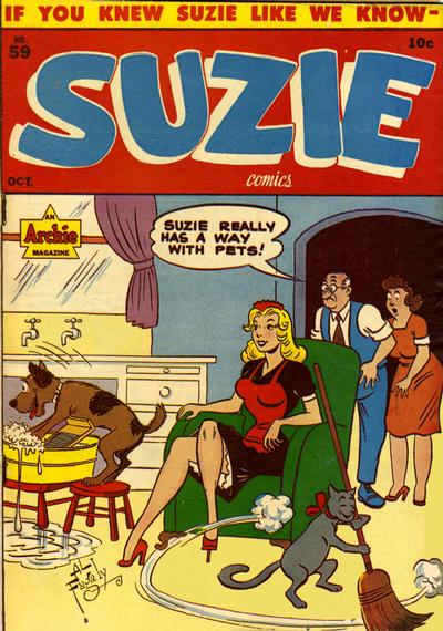 Cover for Suzie Comics (Archie, 1945 series) #59