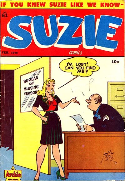 Cover for Suzie Comics (Archie, 1945 series) #61