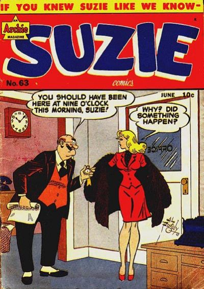 Cover for Suzie Comics (Archie, 1945 series) #63