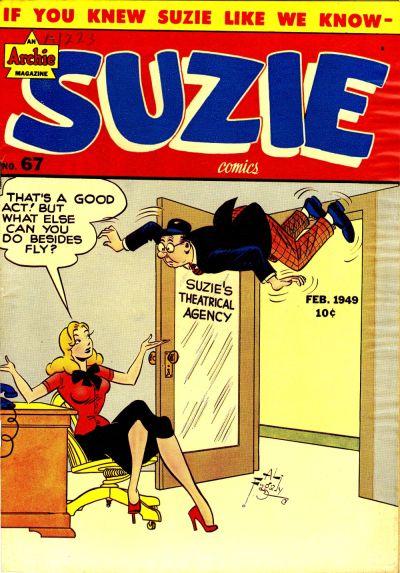 Cover for Suzie Comics (Archie, 1945 series) #67