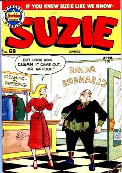 Cover for Suzie Comics (Archie, 1945 series) #68