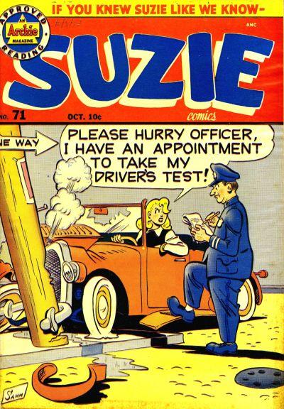 Cover for Suzie Comics (Archie, 1945 series) #71