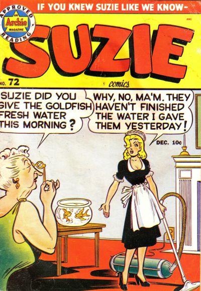 Cover for Suzie Comics (Archie, 1945 series) #72