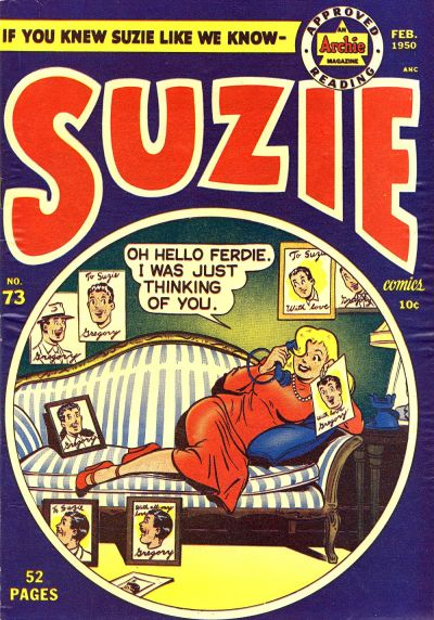 Cover for Suzie Comics (Archie, 1945 series) #73
