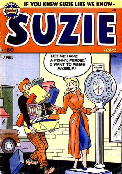 Cover for Suzie Comics (Archie, 1945 series) #80