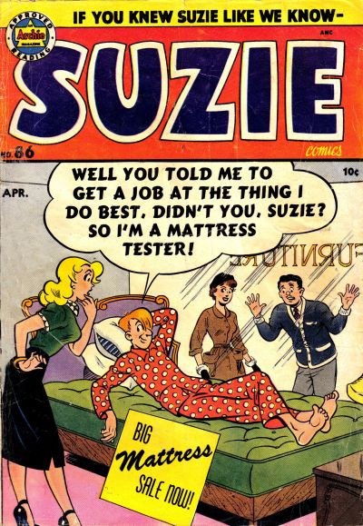Cover for Suzie Comics (Archie, 1945 series) #86