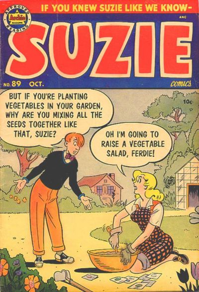 Cover for Suzie Comics (Archie, 1945 series) #89