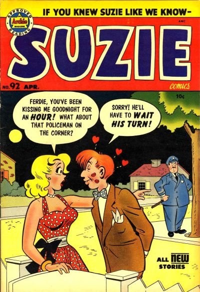 Cover for Suzie Comics (Archie, 1945 series) #92
