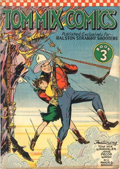 Cover for Tom Mix Comics (Ralston-Purina Company, 1940 series) #3