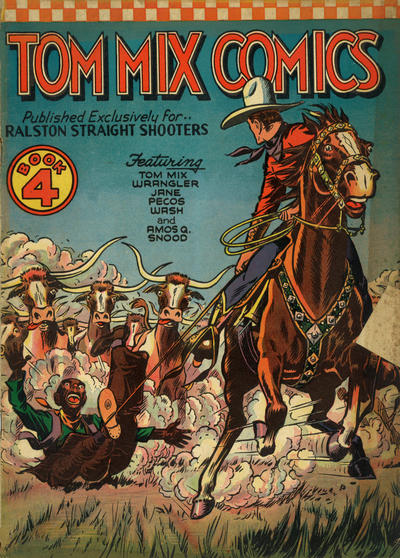 Cover for Tom Mix Comics (Ralston-Purina Company, 1940 series) #4