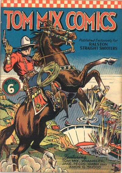Cover for Tom Mix Comics (Ralston-Purina Company, 1940 series) #6