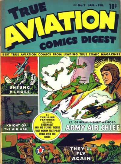 Cover for True Aviation Comics Digest (Parents' Magazine Press, 1942 series) #2