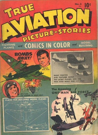 Cover for True Aviation Picture-Stories (Parents' Magazine Press, 1943 series) #3