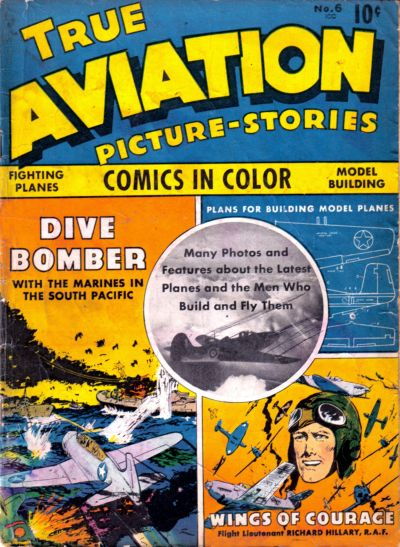 Cover for True Aviation Picture-Stories (Parents' Magazine Press, 1943 series) #6