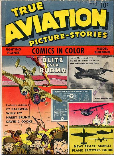 Cover for True Aviation Picture-Stories (Parents' Magazine Press, 1943 series) #8
