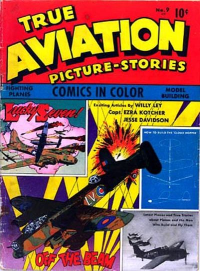 Cover for True Aviation Picture-Stories (Parents' Magazine Press, 1943 series) #9
