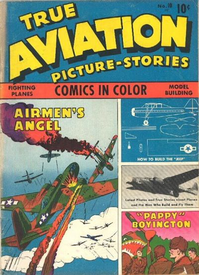 Cover for True Aviation Picture-Stories (Parents' Magazine Press, 1943 series) #10