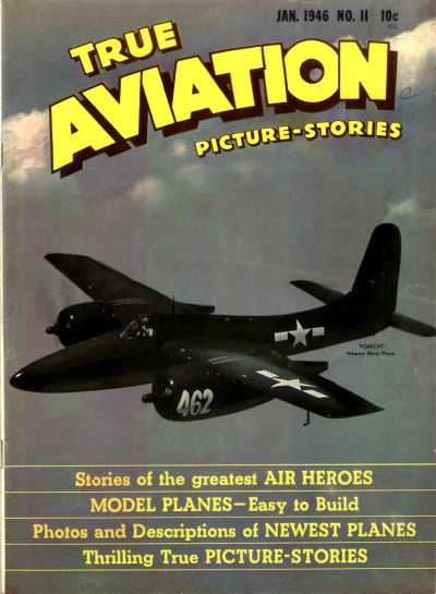 Cover for True Aviation Picture-Stories (Parents' Magazine Press, 1943 series) #11