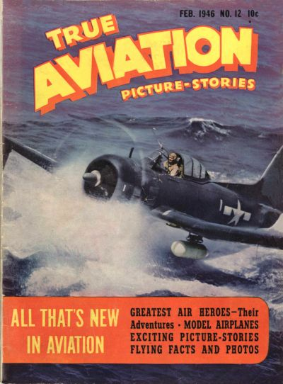 Cover for True Aviation Picture-Stories (Parents' Magazine Press, 1943 series) #12