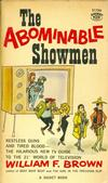 Cover for The Abominable Showmen (New American Library, 1960 series) #S1786