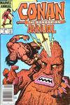 Cover for Conan Annual (Marvel, 1973 series) #9 [Canadian Newsstand Edition]