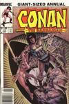 Cover for Conan Annual (Marvel, 1973 series) #10 [1.50 Price Variant]