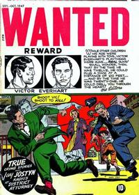 Cover for Wanted Comics (Orbit-Wanted, 1947 series) #9