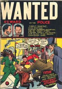 Cover Thumbnail for Wanted Comics (Orbit-Wanted, 1947 series) #10