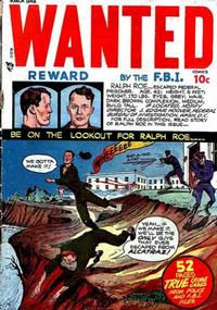 Cover Thumbnail for Wanted Comics (Orbit-Wanted, 1947 series) #12