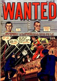 Cover Thumbnail for Wanted Comics (Orbit-Wanted, 1947 series) #21