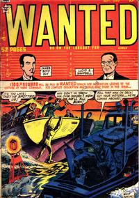 Cover Thumbnail for Wanted Comics (Orbit-Wanted, 1947 series) #22
