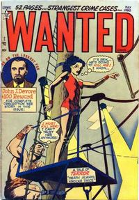 Cover for Wanted Comics (Orbit-Wanted, 1947 series) #27