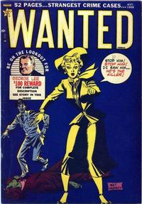 Cover Thumbnail for Wanted Comics (Orbit-Wanted, 1947 series) #30
