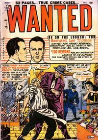 Cover Thumbnail for Wanted Comics (Orbit-Wanted, 1947 series) #36