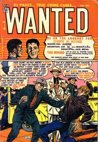 Cover Thumbnail for Wanted Comics (Orbit-Wanted, 1947 series) #37