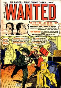 Cover Thumbnail for Wanted Comics (Orbit-Wanted, 1947 series) #38