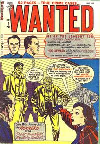 Cover Thumbnail for Wanted Comics (Orbit-Wanted, 1947 series) #39