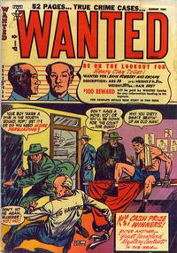 Cover Thumbnail for Wanted Comics (Orbit-Wanted, 1947 series) #40