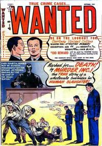Cover Thumbnail for Wanted Comics (Orbit-Wanted, 1947 series) #42