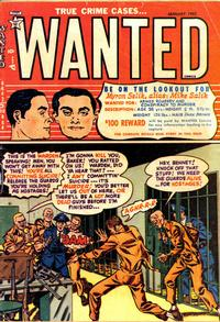 Cover Thumbnail for Wanted Comics (Orbit-Wanted, 1947 series) #44