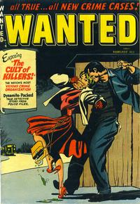 Cover Thumbnail for Wanted Comics (Orbit-Wanted, 1947 series) #52