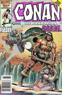 Cover Thumbnail for Conan Annual (Marvel, 1973 series) #11 [Direct Edition]