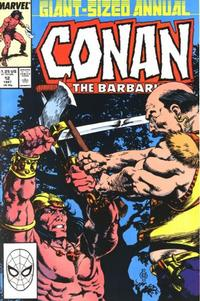 Cover Thumbnail for Conan Annual (Marvel, 1973 series) #12 [Direct Edition]