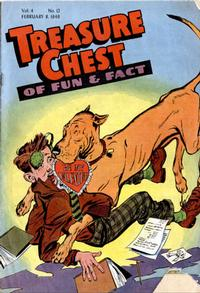Cover Thumbnail for Treasure Chest of Fun and Fact (George A. Pflaum, 1946 series) #v4#12 [58]