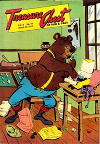 Cover Thumbnail for Treasure Chest of Fun and Fact (George A. Pflaum, 1946 series) #v8#14 [140]