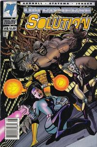 Cover Thumbnail for The Solution (Malibu, 1993 series) #8 [Newsstand]