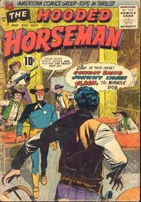 Cover Thumbnail for The Hooded Horseman (American Comics Group, 1954 series) #22