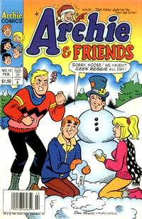 Cover Thumbnail for Archie & Friends (Archie, 1992 series) #13