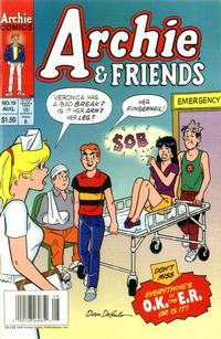 Cover Thumbnail for Archie & Friends (Archie, 1992 series) #19 [Newsstand]